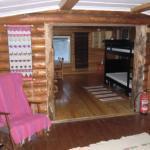 wilderness lodge for husky tours longer trips