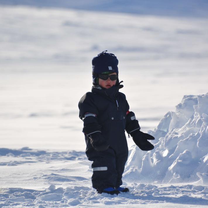outdoor kids mountain trip